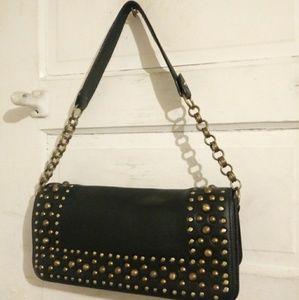 Vintage Toh e fiNd Leather Handbag